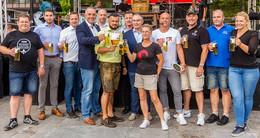 Viertes Festival des Bieres auf dem Uniplatz: Live-Musik, Modenschau und mehr