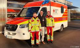 DRK-Kreisverband Hünfeld stellt neuen Rettungswagen in Dienst
