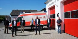 Neue Johanniter-Rettungswache in Nieder-Ohmen nun bezugsfertig