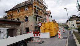 Nach Hauseinsturz in Kathus: Eingestürzter Teil bereits abgerissen
