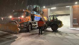 Winterdienst im Dauereinsatz - Schulen reagieren auf Wetterlage