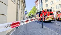 Alarm in ehemaliger Rhön Energie-Zentrale: Person droht zu springen