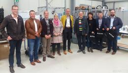 Informationen zum Gewerbegebiet Am Steinhauck mit MdL Thomas Hering