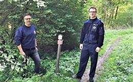 Notfall-Orientierungssystem entlang der HeinzemannTour umgesetzt