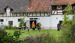 Schreinerei brennt: Schnelles Eingreifen der Feuerwehr verhindert Schlimmeres