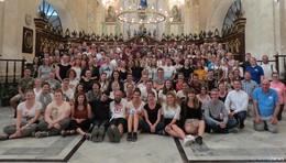 Abschlussmesse der Wallfahrt in der Kathedrale von Havanna