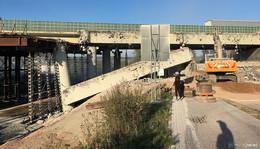 Brückenarbeiten auf der A7 bei Götzenhof: Hessen Mobil gibt Entwarnung