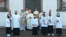 Primizmessen des Neupriesters André Kulla OMI