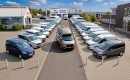 Im Autohaus Sorg: Die ganze Fahrzeugpalette von Ford, Jaguar und Land Rover