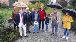 Starkes Dorf Hainrode: 5.000 Euro für Ausbau des Lindenplatzes