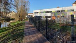 Fußweg entlang der Fliedetalschule fertiggestellt