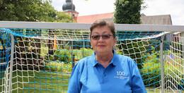 20 Jahre an der Spitze von Blau-Weiß Großentaft: Margarete Schellenberger