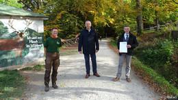 Wildpark mitten im BSR-Rhön: Beliebter Ausflugsort wird aufgewertet