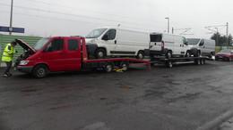 Polizei stoppt polnische Fahrzeug-Kolonne mit erheblichen Mängeln