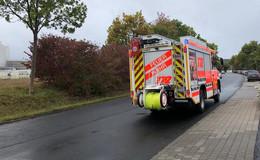 Im Industriegebiet Fulda-West: Gefahrgutunfall auf Firmengelände