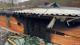 Feuer bei Forstbetrieb in Bieben: Das ist ein terroristischer Anschlag!