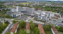 Die größte Baustelle der Stadt: Das INO-Zentrum am Klinikum Fulda