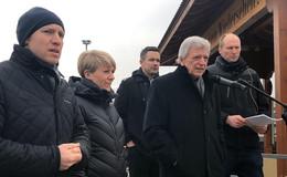 MP Bouffier zu den 150 Landwirten: Problem gemeinsam lösen