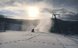 Kleines Wintercomeback: Skilift am Zuckerfeld geöffnet