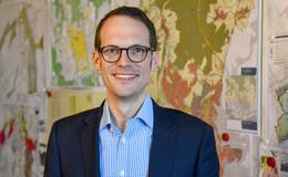 Stadtbaurat Daniel Schreiner - Antritt zur Wiederwahl am Montagabend