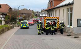 Einsatz für die Feuerwehr: Gasgeruch am Schützenhaus wahrgenommen