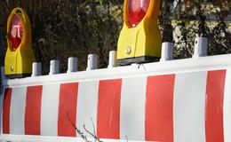 Kreuzungsbereich in Grebenauer Ortsdurchfahrt voll gesperrt