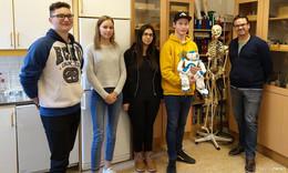 ESS-Schüler nahmen an europäischem Projekt zur künstlichen Intelligenz teil