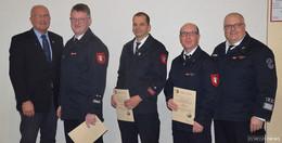 Jahreshauptversammlung der Feuerwehren der Gemeinde Poppenhausen