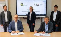 Bickhardt Bau AG und Staatliche Technikakademie beschließen Zusammenarbeit