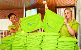 Virtuelle Challenge: Echtes Handtuch als Belohnung für alle Teilnehmer