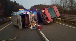 Unfall auf der A4 - Ärztin war zufällig vor Ort