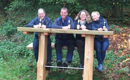 HeinzemannTour in Ehringshausen glänzt mit neuer Waldbar