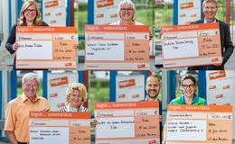 5.700 Euro für Kinder- und Jugendarbeit, Palliativstiftung und Hospizverein
