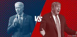 Biden liegt aktuell knapp vorne: Schafft er den Sprung ins Weiße Haus?