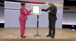CDU startet digitalen Parteitag - AKK-Abschiedsrede und viel Lob