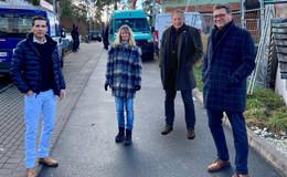 Große Unzufriedenheit: CDU fordert Unterstützung der Anwohner Überm Grund