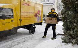 Postboten bei fast jedem Wetter unterwegs: Zustellung bei Schnee und Glätte