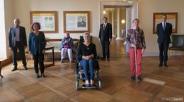 Neuer Vorstand des Behindertenbeirats vorgstellt: Frauenpower an der Spitze