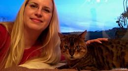Wie ein Wunder: Kater Timba nach sieben Monaten wieder zu Hause