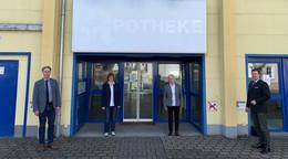 DRK-Testzentrum zieht in die ehemalige Ullrich-von-Hutten-Apotheke
