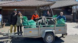 Natur im Vogelsberg schützen: Müllsammelaktion rund um den Hoherodskopf