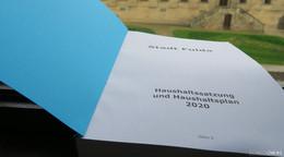RP genehmigt Haushalt 2020 der Stadt Fulda auflagenfrei