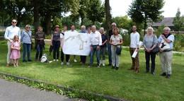 Mitglieder der DGGL besuchen Baustellen der Landesgartenschau 2023