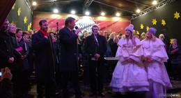 Fuldaer Weihnachtsmarkt: OB eröffnete offiziell bei kalten Temperaturen
