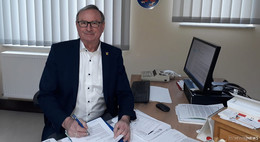 Anlauf auf dritte Amtszeit: Volker Jaritz (parteilos) will noch mal