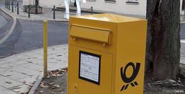 Post-Briefkasten an Ecke Johannes-Dyba-Allee/Domdechanei steht wieder