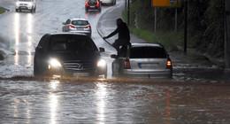 Nächstes Unwetter steht der Region ins Haus: Warnung gilt ab 12 Uhr