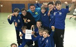 Geistalschule belegt ersten Platz beim Regionalentscheid Handball