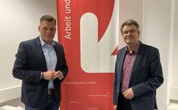 CDU-Bundestagskandidat Wilhelm Gebhard besucht Bundesagentur fürArbeit