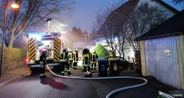 Kellerbrand in Engelhelms - Feuerwehr im Einsatz!
